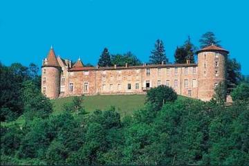 France Auvergne Château De Vollore