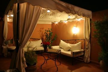 riad couleur du sud. Black Bedroom Furniture Sets. Home Design Ideas