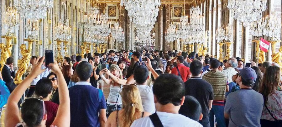 Nouvelles Tourisme  La saturation menace les sites touristiques français