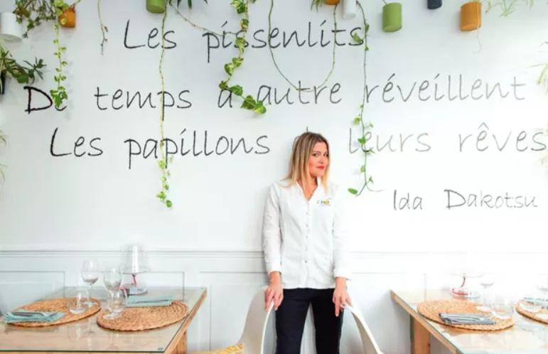 Nouvelles Gastronomie  Claire Vallée : la bonne étoile de la gastronomie végétale