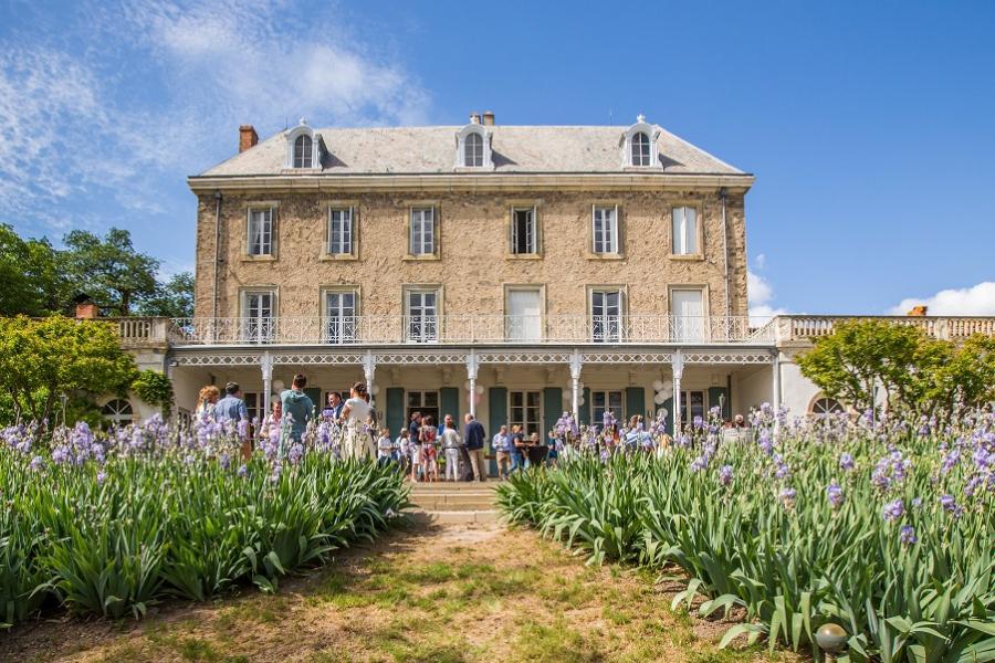 France Languedoc-Roussillon Château de Blomac