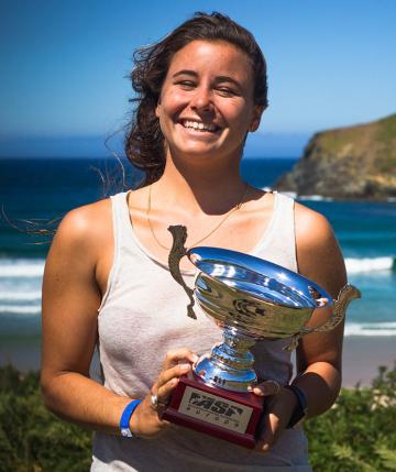 Nouvelles Sport Surf : le triomphe d'une Française en Amérique